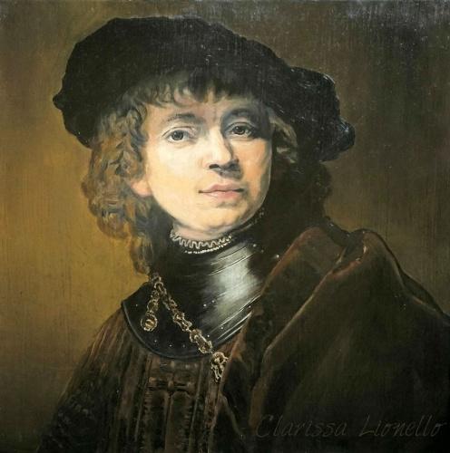 Tela stile antico copia Rembrant