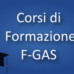 Corso di formazione FGAS