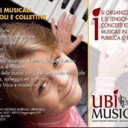 UBI MUSICA Volantino