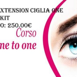 Corso extension ciglia one to one 24.12.2018