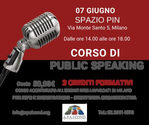 FB Corso di Public Speaking