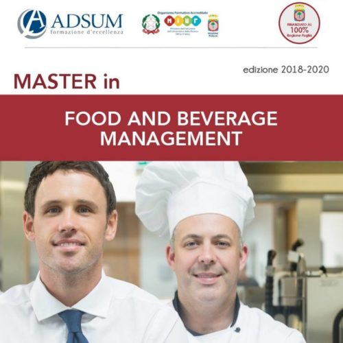 master_food e beverage_lecce